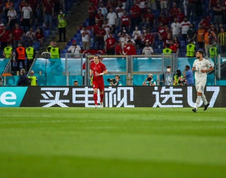 UEFA EURO 2020 Sponsor Hisense Showcases Hisense U7 TV at the Tournament