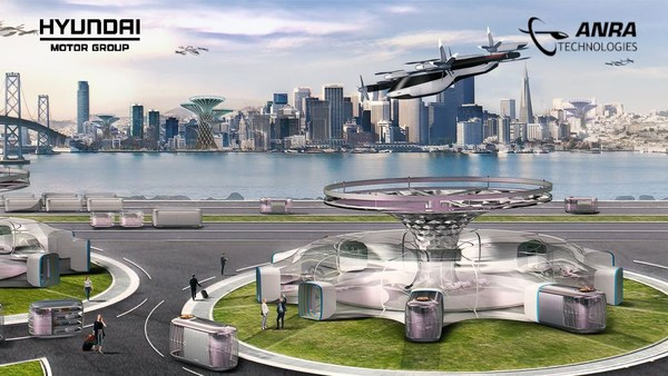 Hyundai UAM announced a new partnership with ANRA Technologies