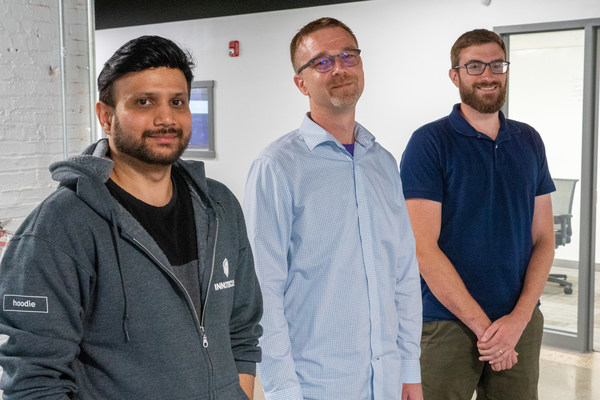 Innotescus founders, Shashank, Chris, and Rob