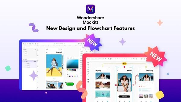 Wondershare Mockitt V6.4 Showcases New Design and Flowchart Features