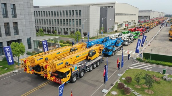 XCMG Delivers Over 100 Units of Geographically Customized Cranes to International Customers.