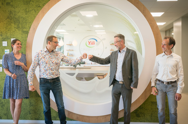 StartLife Representatives visiting Yili Innovation Center at Wageningen Campus.
