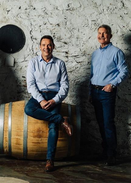 Chris Hatcher & Steven Frost from Wolf Blass Wines