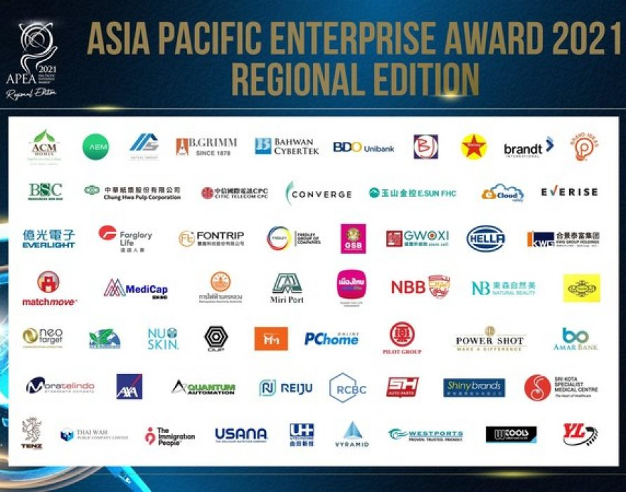 59 Business Leaders and Enterprises Award Recipients Navigating The Great Reset at the 15th Asia Pacific Enterprise Awards 2021 Regional Edition