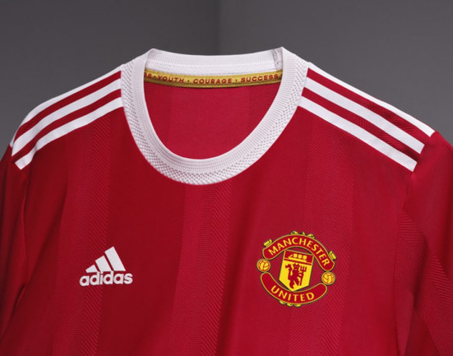 adidas and Manchester United Reveal 2021/22 Home Jersey, Bringing a Modern Design to Classic Club Styles