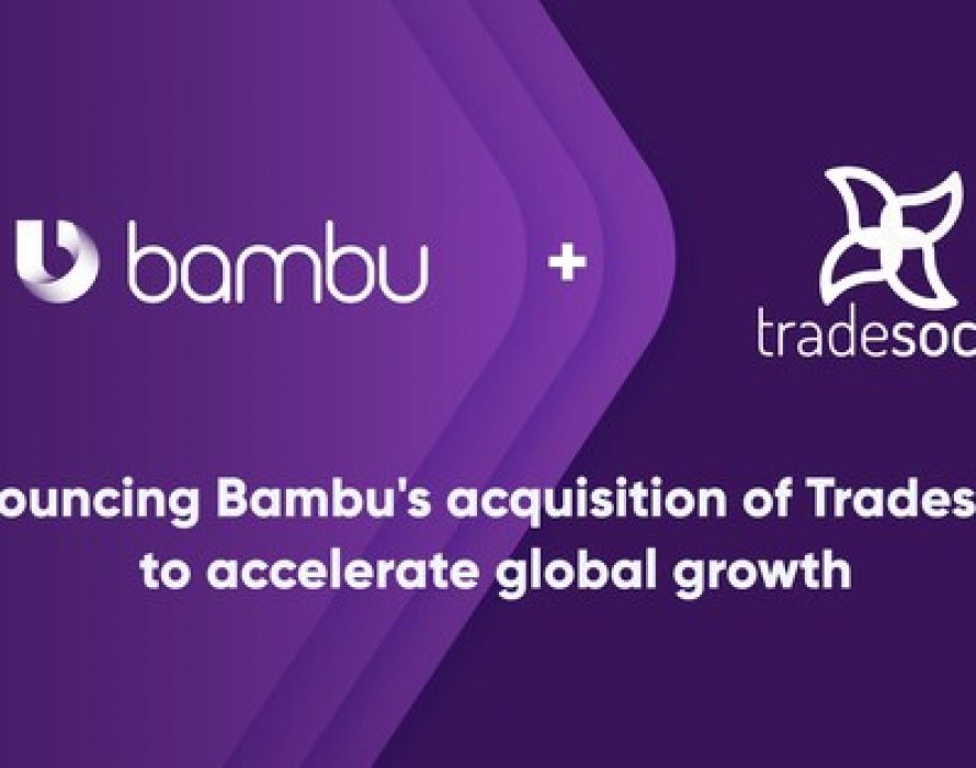 Bambu acquires investment management technology provider Tradesocio to accelerate global growth