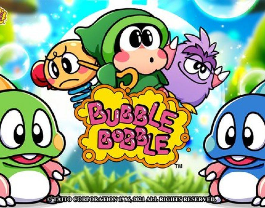 Bravo Casino and Taito Corporation Celebrate Bubble Bobble's 35th Anniversary with New Free-to-Play Slot Machine Game