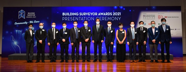 Building Surveyor Awards 2021 Presentation Ceremony Recognising Contributions and Applauding Excellence
