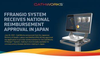 CathWorks FFRangio™ System Receives National Reimbursement Approval in Japan