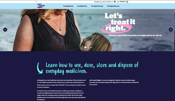 Let's treat it right homepage