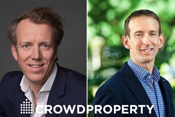 Michael Bristow and David Ingram — CEOs of CrowdProperty UK and Australia respectively.