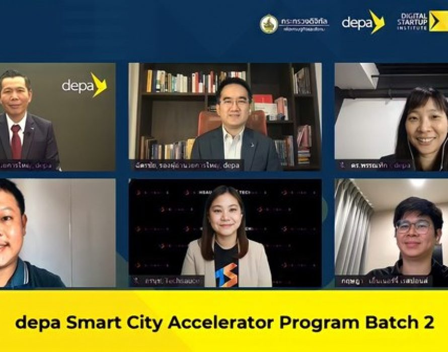 """depa and Techsauce team up to launch """"depa Smart City Accelerator Program Batch 2"""" in Thailand"""