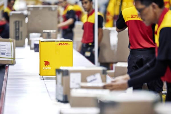 Shipments that are handled by DHL Express are compliant to legal and regulatory frameworks