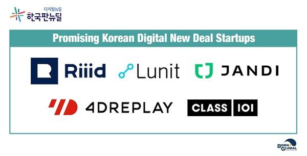 Promising Korean Digital New Deal Startups