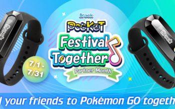 Festival Together! Brook Pocket Partner Month