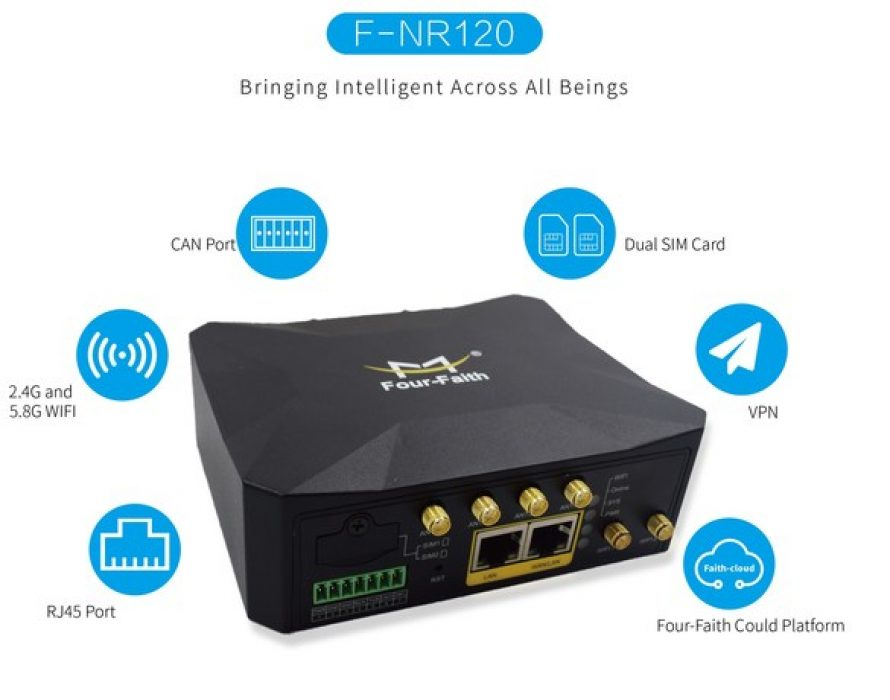 Four-Faith Accelerates Global Expansion with International Launch of New Compact Size 5G Industrial Routers