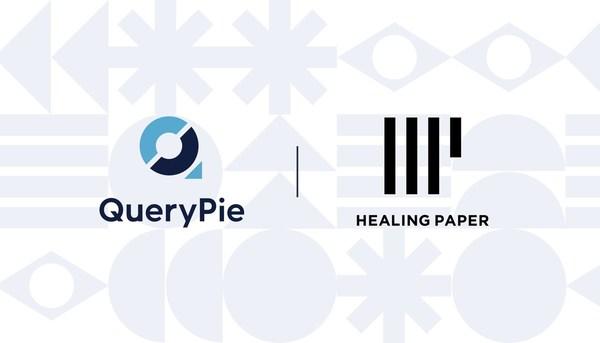 QueryPie X Healing Paper