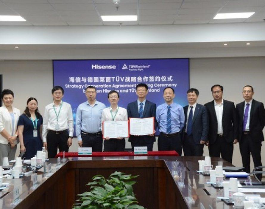 Hisense Becomes the World's 1st TV Brand Acquiring TÜV Rheinland Privacy by Design Certification Based on ETSI EN 303 645