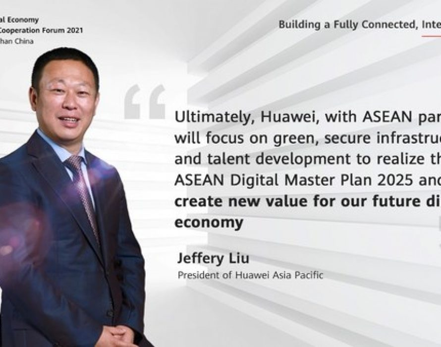 Huawei vows to empower ASEAN's green development with digital power innovations