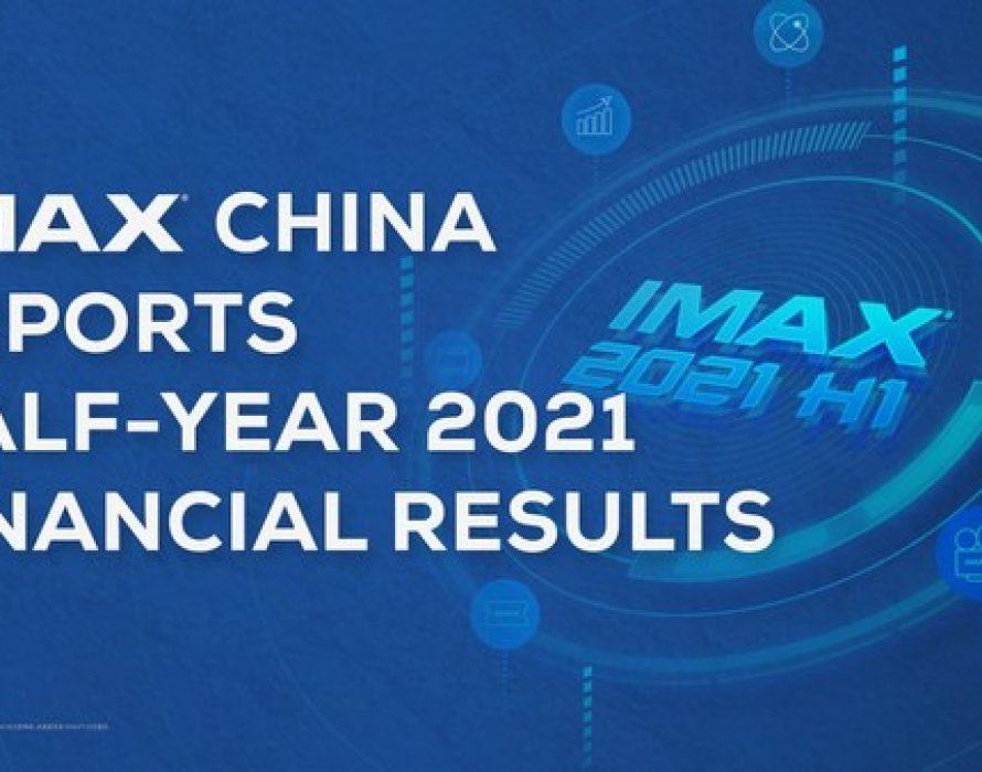 IMAX China Reports Half-Year 2021 Financial Results