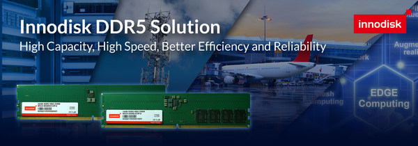 """Boasting a bucketload of benefits, including the obligatory speed and storage increases, DDR5 will eventually take its place as the memory option of choice. One question remains: Can DDR5 prove itself reliable enough to meet the stringent demands of reliability-conscious and risk-averse industries? """"Innodisk brings its years of experience in delivering quality products with industrial-grade reliability that our customers have expected from us."""" said Samson Chang, Corporate VP & GM of DRAM BU."""