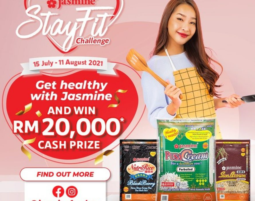 Jasmine Food Corporation launches #JasmineStayFit, a challenge to Malaysians to live a healthy lifestyle