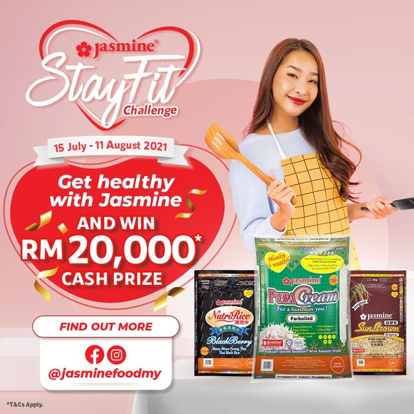 Jasmine encourages Malaysian to explore rice in their healthy diets