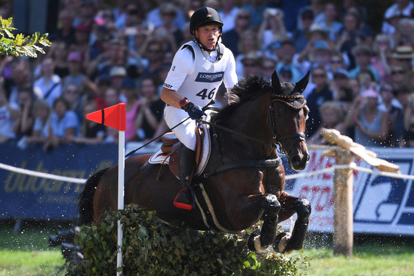 Germany's Michael Jung rides his 2019 European Championship horse Chipmunk FRH in Luhmuhlen, (GER) and the pair aim to make history with a hatric gold in Tokyo (JPN).