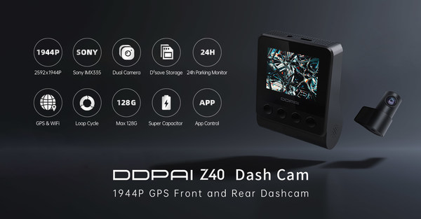 DDPAI Z40 Dashcam Features V2