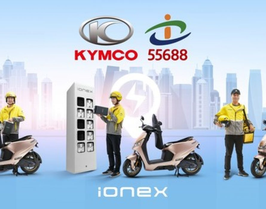 KYMCO and Taiwan Taxi Announce Partnership to Electrify Taiwan's Largest Two-wheeler B2B Delivery Fleets with Ionex