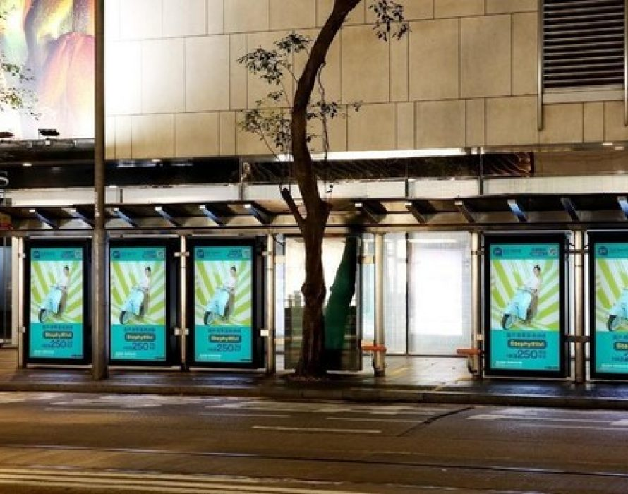 livi bank launched Hong Kong's first programmatic bus shelter Omnichannel ad to reinforce the livi PayLater campaign launch