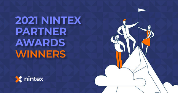 Nintex today announced 15 winners of the 2021 Nintex Partner Awards across five categories and three regions – Americas, Asia Pacific, and Europe Middle East and Africa – for their impact helping Nintex customers in every industry accelerate digital transformation and drive business outcomes with the powerful and easy-to-use capabilities of the Nintex Process Platform.