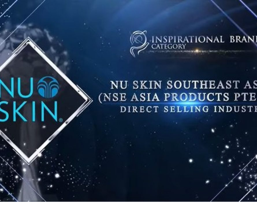 Nu Skin Southeast Asia (NSE Asia Products Pte Ltd) Awarded Inspirational Brand Award at the Asia Pacific Enterprise Awards 2021 Regional Edition