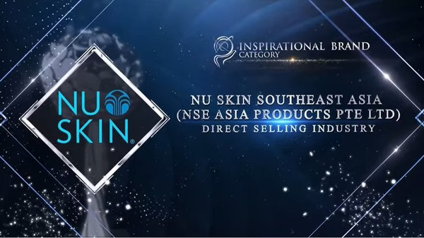 Nu Skin Southeast Asia (NSE Asia Products Pte Ltd) honoured for Inspirational Brand Category at The Asia Pacific Enterprise Awards 2021 Regional Edition