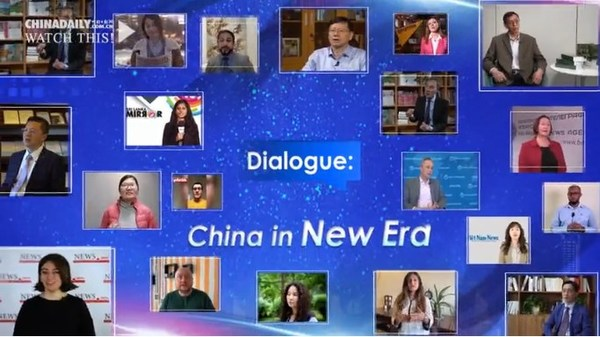 A collaborative video project invited foreign reporters to ask questions. China Daily reporters asked top experts to give their answers in a video series.