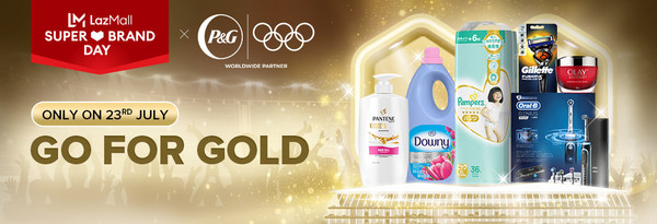 P&G, Official Worldwide Sponsor of Olympic Games Tokyo 2020, Teams Up with Lazada for Regional Campaign #GoForGold