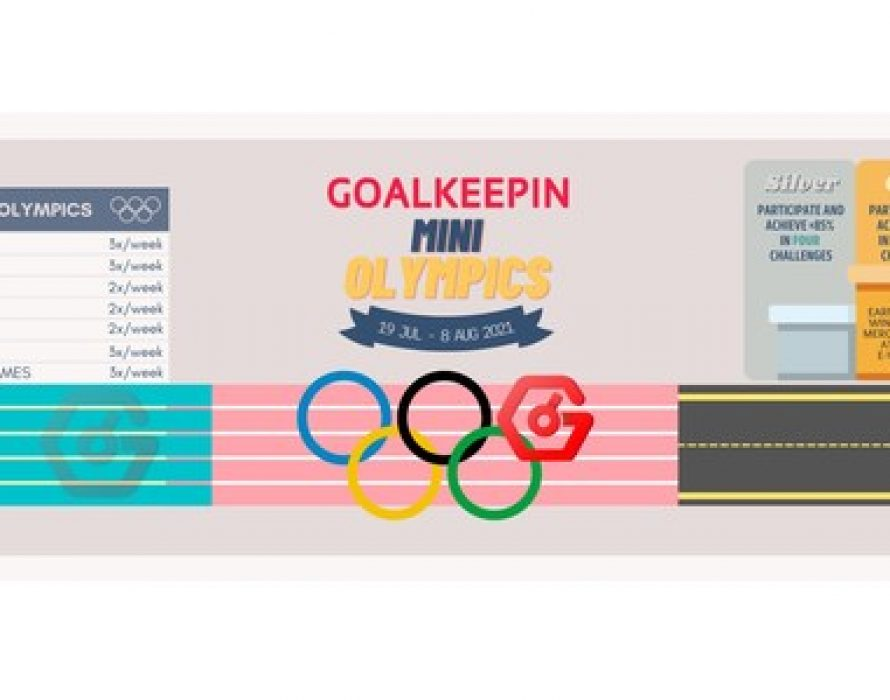 Pushing your limits this Olympics Season with GoalKeepin