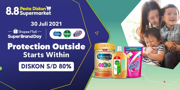 Reckitt and Shopee support Indonesians in fight against pandemic with 'Protection Starts From Within' campaign
