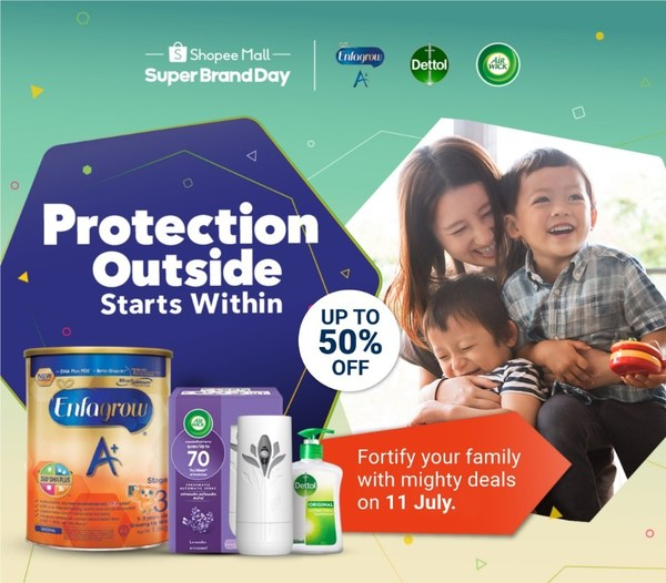 Reckitt and Shopee support Singaporeans in fight against pandemic with 'Protection Starts From Within' campaign