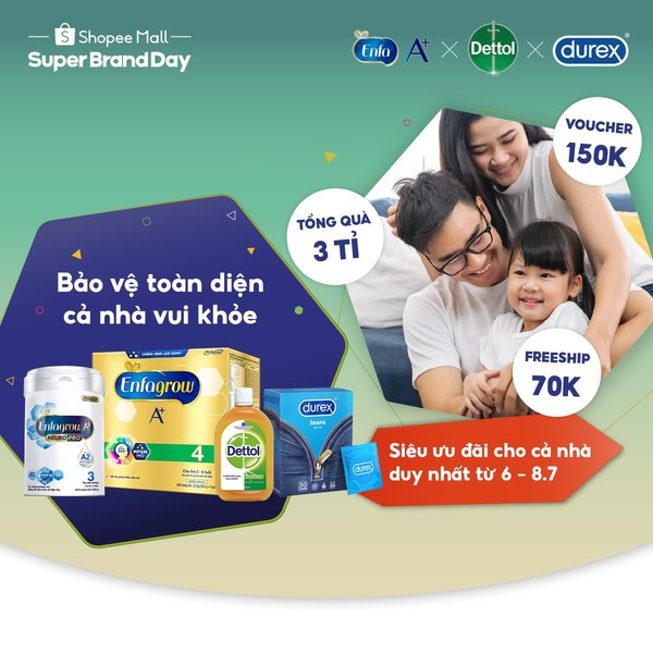 Reckitt and Shopee support Vietnamese in fight against pandemic with 'Protection Starts From Within' campaign