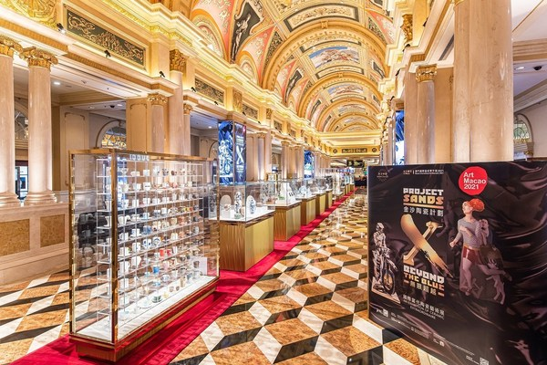 Sands China's striking ceramics exhibition for Art Macao, Project Sands X: Beyond the Blue – An Exhibition of Ceramic Extraordinaire, is now open for public viewing at The Venetian Macao.