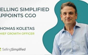 Selling Simplified Appoints Thomas Koletas as Chief Growth Officer