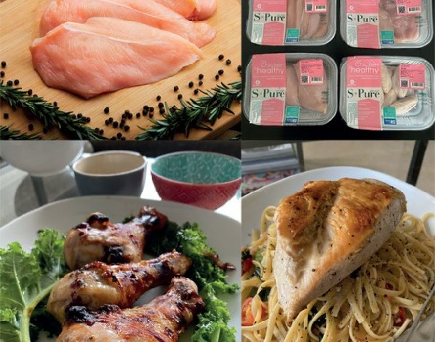Singapore's Best Fresh & Frozen Foods Supplier Tay launches Asia's Best Fresh Chicken S-Pure at Isetan Scotts in SINGAPORE