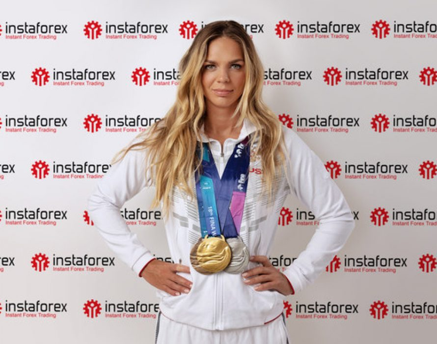 Six-Time World Swimming Champion Yuliya Efimova Teams Up With InstaForex Right Before The Olympics