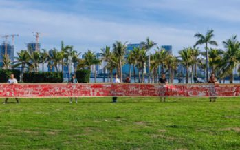 Telling Hainan's history for 100 years with 22 meters of heritage