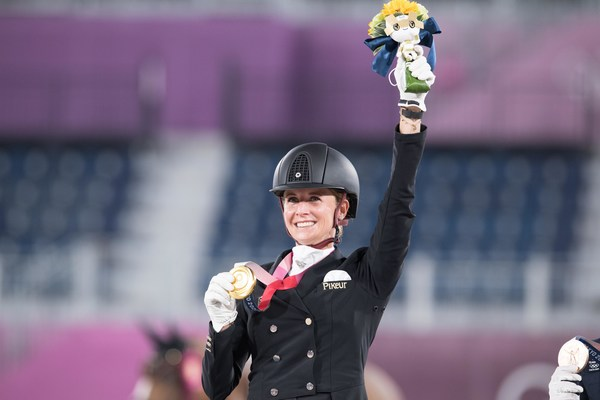 Germany's Jessica von Bredow-Werndl claimed the Individual Dressage title at the Tokyo 2020 Olympic Games with victory in the Freestyle partnering the lovely mare TSF Dalera at Baji Koen Equestrian Park tonight.