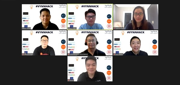 Vynn Capital and some of our portfolio companies. Top left: Victor Chua, Founding & Managing Partner of Vynn Capital; Top right: Lennise Ng, CEO and Co-Founder of Dropee; Second row far left: Hendry Rusli, CEO and Co-Founder of Travelio; Second row far right: Eric Cheng, Group CEO and Co-Founder of Carsome