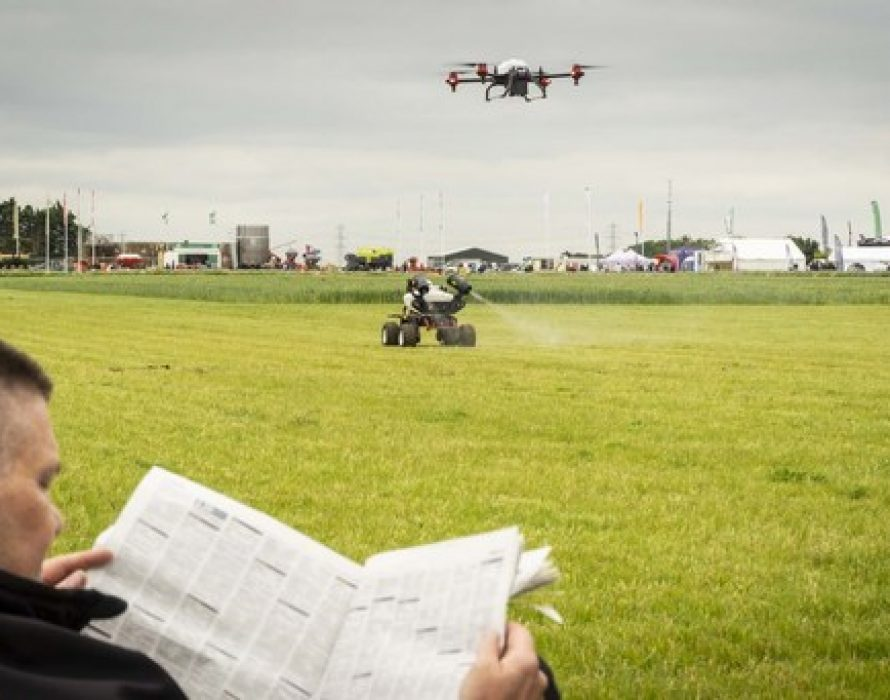 XAG Low-carbon Farm Robots Exhibited at UK's Cereals Agricultural Show
