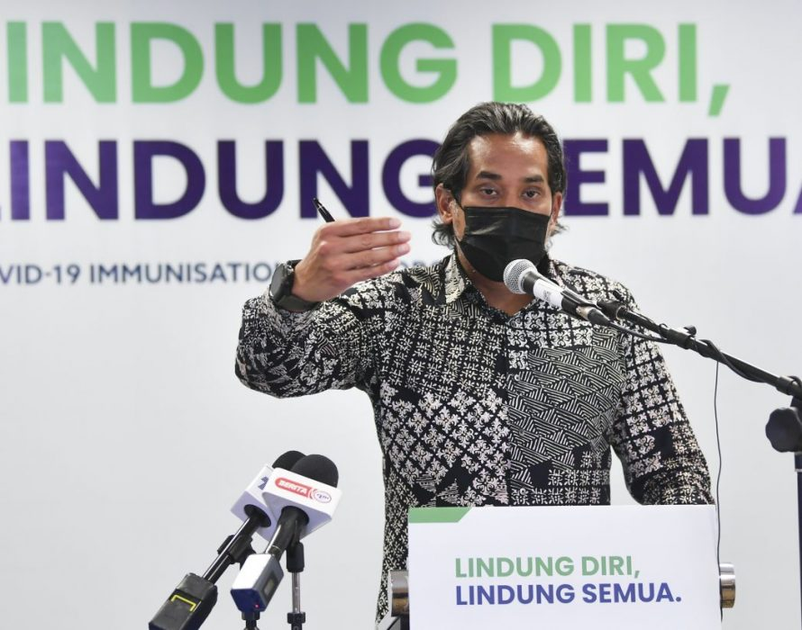 Pick to start vaccinate adolescents aged 12 to 17: Khairy