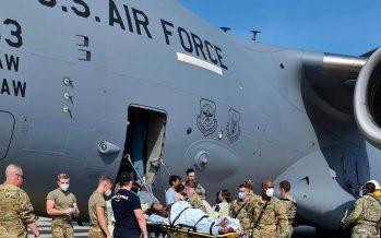 Afghan refugee gives birth on US evacuation plane